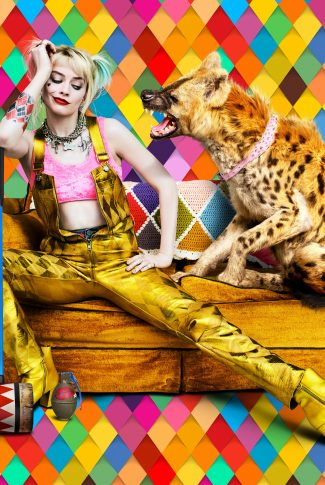 Download Birds Of Prey Harley Quinn And An Animal Wallpaper Cellularnews