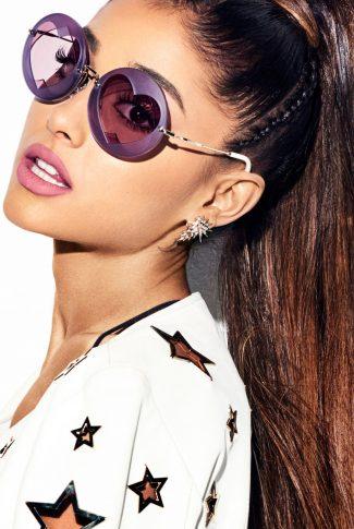 Download Ariana Grande In Heart Sunglasses Wallpaper Cellularnews