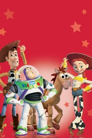 A Toy Story 2 movie cast poster wallpaper.
