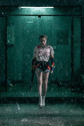 Download Birds Of Prey Harley Quinn In The Rain Wallpaper Cellularnews