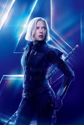 Download Avengers Infinity War Character Poster Black Widow Wallpaper Cellularnews