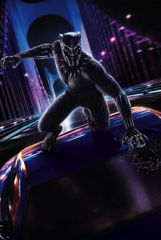 Download Black Panther Car Chase Wallpaper Cellularnews
