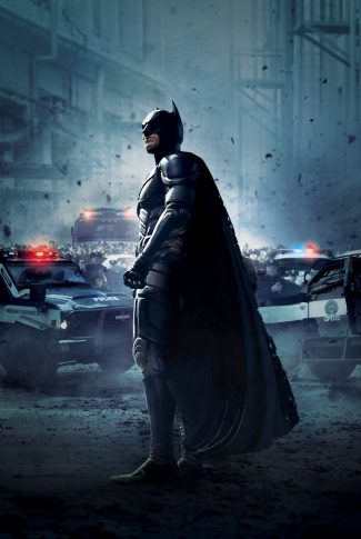 Download The Dark Knight Rises Surrounded By Cops Wallpaper Cellularnews