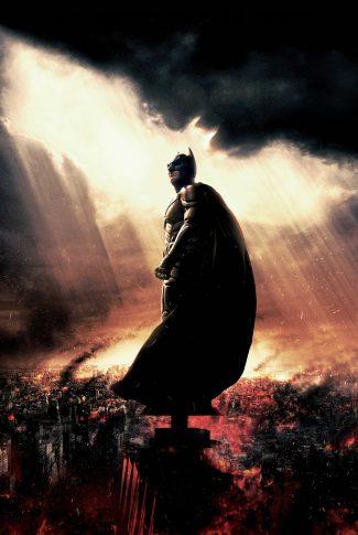Download The Dark Knight Rises Artwork Bat Signal In The Sky