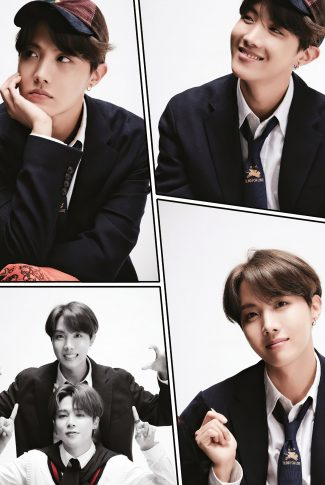 37 a bts comic strip jhope
