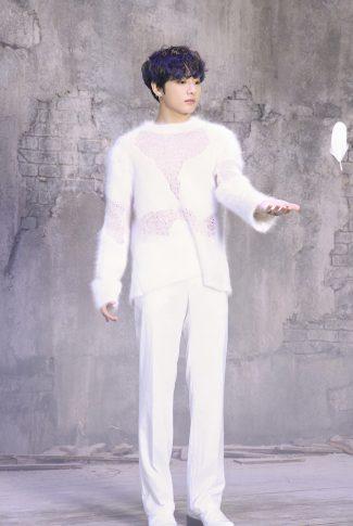 45 bts jungkook in white