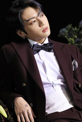 47 bts map of the soul 7 portrait jungkook in a tux