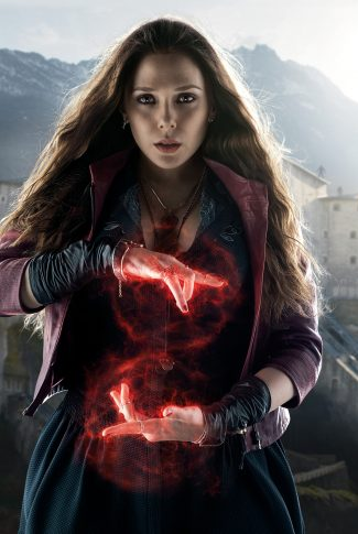 Download Avengers Age Of Ultron Character Poster Scarlet Witch Wallpaper Cellularnews