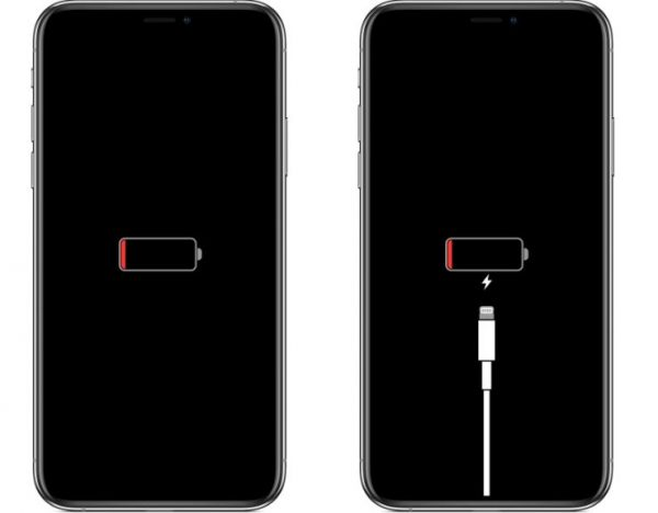 Charging Your iPhone's Empty Battery