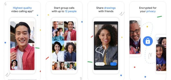 Google Duo Facetime on android