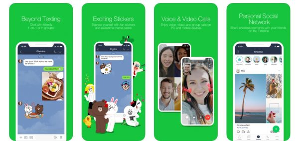 LINE Facetime on android