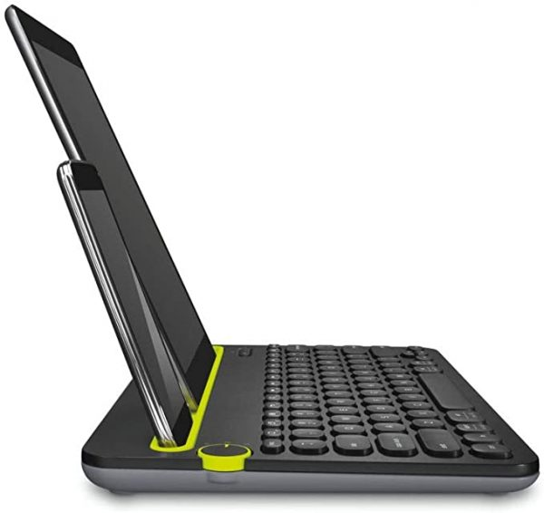 Logitech portable keyboard for mobile phones and tablets
