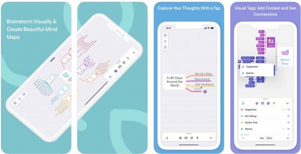 Mindnote app