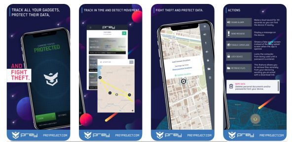 Prey Anti-Theft Find My Phone & Mobile Security Travel Apps
