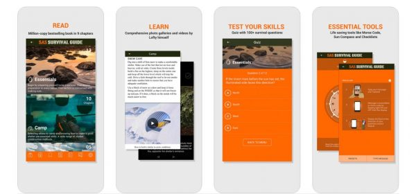 SAS Survival Guide Travel Apps