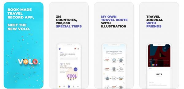 VOLO Travel Apps