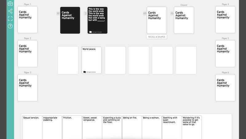 Blank cards xyzzy youre Pretend You're