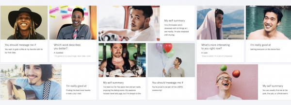 gay dating app users has sparked the interest of